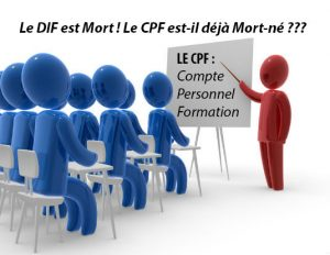 compte personnel de formation (CPF) de 2018